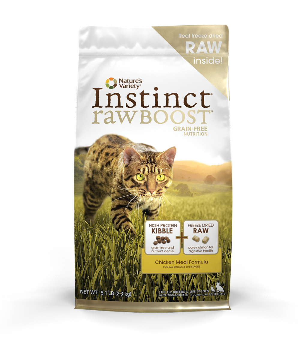 Nature S Variety Cat Raw Boost